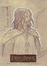Lord of the Rings LOTR Masterpieces sketch Dalla Vecchia Aragorn