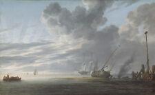 PAINTING DE VLIEGER MORNING SEASCAPE XXL POSTER WALL ART PRINT LLF0240