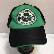 ST PATRICK'S DAY PARADE GUINNESS BEER DUBLIN IRELAND BASEBALL CAP HAT EAR FLAPS