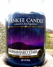 "Yankee Candle ""KILIMANJARO STARS""  22 oz. European Release Exclusive ~ NEW!"