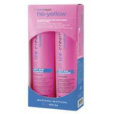 INEBRYA ICE CREAM No-Yellow Light Blue shampoo + conditioner 300mL