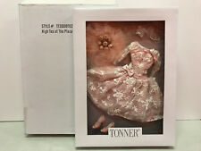 "Tonner High Tea at The Plaza pink tulle faux flowers 16"" curvaceous bod NRFB New"