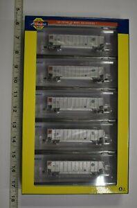 Lot 10-46 * N Scale Athearn 25005 - Bethgon Coalporter 5-PACK BNSF