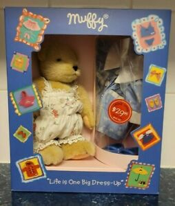 FAO Swartz Muffy VanderBear Outfit Bear NEW Toy Boxed Set