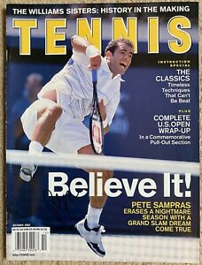 Pete Sampras autograph Tennis Magazine