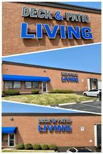 Deck & Patio Living - Electrical Outdoor Building Signage (Immaculate Condition)