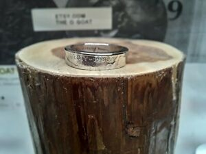 "Custom Made Coin Ring U.S. Dated Nickel "" 1988 "" Size 6 1/4"