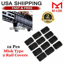 12X Tactical M-lok Type 2 Rail Covers For Mlok Rail Hand Protector Accessories