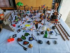 Playmobil Medieval Knights Job Lot, Includes Catapult, Knights Lots Of Extras