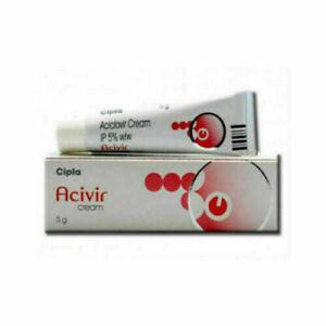 4 X Acivir Cream 5Gm Each (Fast Ship)