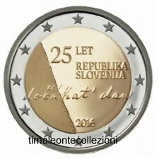 Slovenia 2€ 2016 FDC Repubblica  in oblò e posta prioritaria