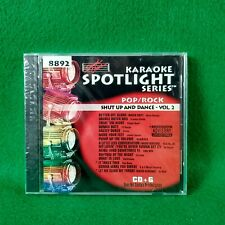 Karaoke Spotlight Series Cd+G Sound Choice Disc 8892 Shut Up and Dance Pop Rock