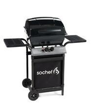 Barbecue a gas Pepito Sochef cottura con pietra lavica  74x46xh103 cm