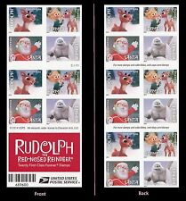 US 4949d Rudolph Red-Nosed Reindeer imperf NDC booklet 20 MNH 2014
