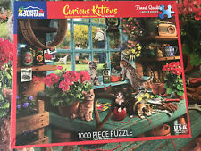 White Mountain Puzzle 1000 Pieces - Curious Kittens