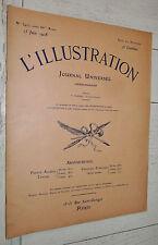 L'ILLUSTRATION N°3407 1908 COTONOU TSAR NICOLAS II DAHOMEY TONKIN MAROC COLONIES