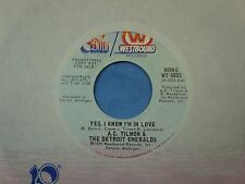 A.C. Tilmon & Detroit Emeralds: Yes, I Know I'm in Love/ Rosetta Stone [NEW]