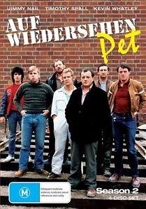 Auf Weidersehen Pet: Season 2 (DVD, 2009, 4-Disc Set) - Region 4