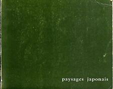 catalogue paysages japonais peintures dessins