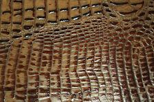Baileys Croc Scrap Leather Cowhide Remnant 5