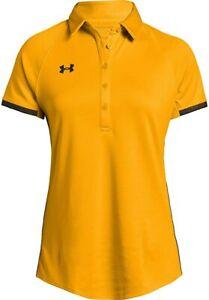 NWT Under Armour Womens Athletic UA Rival Polo Short Sleeve T-Shirt S,M,L~3XL