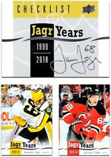 2018-19 UD Jagr Years **** PICK YOUR CARD **** From The LIST