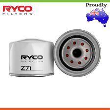 Brand New * RYCO * Oil Filter For RENAULT FUEGO 1.6L 4 Petrol 1/1981 -12/1984