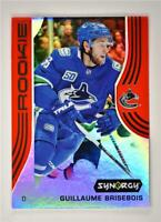 2019-20 Synergy Base Rookie Red w/ Code 57 Guillaume Brisebois Vancouver Canucks