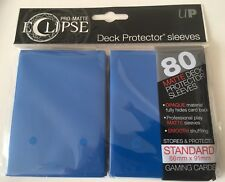Ultra Pro Eclipse Pro-Matte BLUE Deck Protector Trading Card Sleeves 80 Pack
