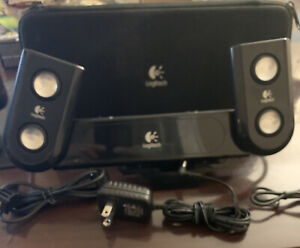 Sony PSP Logitech PlayGear Amp Speaker and Case Model # S-0179A