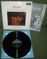 MOZART Complete Dances & Marches Vol 7  ORIG 1st UK 1966 DECCA SXL 6246 MINT-