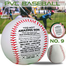 To My Son Love You From Dad Engraved Baseball Gift Anniversary Birthday Ball Us