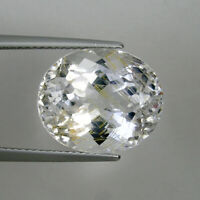 13.78 ct  VERY RARE HUE -  NATURAL  RUTILE  TOPAZ  UNTREATED   Oval Cut CL