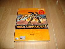 MECHCOMMANDER 2 COMANDO TACTICO DE MECHWARRIOR PC NUEVO PRECINTADO CAJA GRANDE