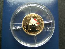 "Frankreich 10 Euro 2006 Hello Kitty im Theater PP Gold ""RAR"""