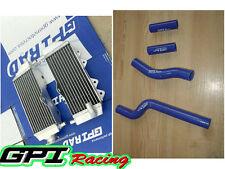 aluminum radiator and  hose FOR Yamaha YZ250 2-stroke 2002-2015 03 04 05  06 07