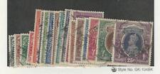 India, Postage Stamp, #150-167 VF Set Used, 1937-40