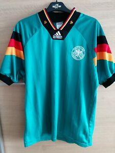 Germany Adidas Away Shirt 1992 1993 1994 - 38'/40' M MEDIUM - Original shirt