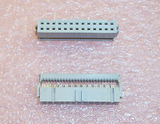 QTY (10) 71602-226 BERG 26 POSITION IDC RIBBON CABLE CONNECTOR