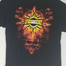 Godsmack 2009 Tour T Shirt Black 2 Sided Mens Size XL