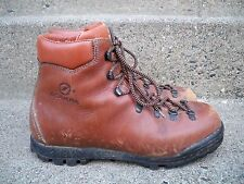 Scarpa Made in Italy Mountaineering Hiking Leather Stomper Men's Boots 9 US/ 42