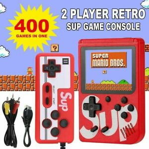 Retro Mini Handheld Video Game Console Gameboy Built-in 400 Classic Games Gift
