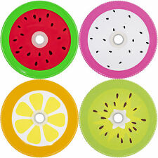 Mason Jar Lids Fruits With Hole Grommet for Straw Drinks Lemonade Picnic Cute
