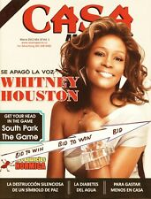 Whitney Houston Casa Magazine March 2012 South Park Spanish Text Very Cool