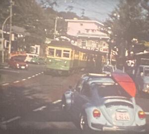2 Vintage Tokyo Japan Monorail Trolley Trains Super 8mm Home Movie 50ft Reels
