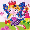 Mosaik Bilder Maöerei Spielzeug Bastel set Sticker Fee Tiere Prinzessin Kinder