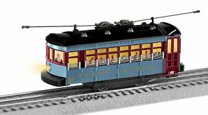 Lionel 1923130 POLAR EXPRESS Trolley Set w/ Announcement Track - NEW in OPEN BOX