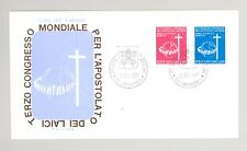 Vatican 1967 World Congress First Day Cover, unaddressed, lovely condition