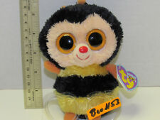 """As Is #53 Retired Ty beanie Baby Boos Boo Sting the Bee 6"""" No Poem Htf Mwmt 2012"""