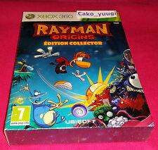 RAYMAN ORIGINS EDITION COLLECTOR XBOX 360 NEUF VERSION 100% FRANCAISE